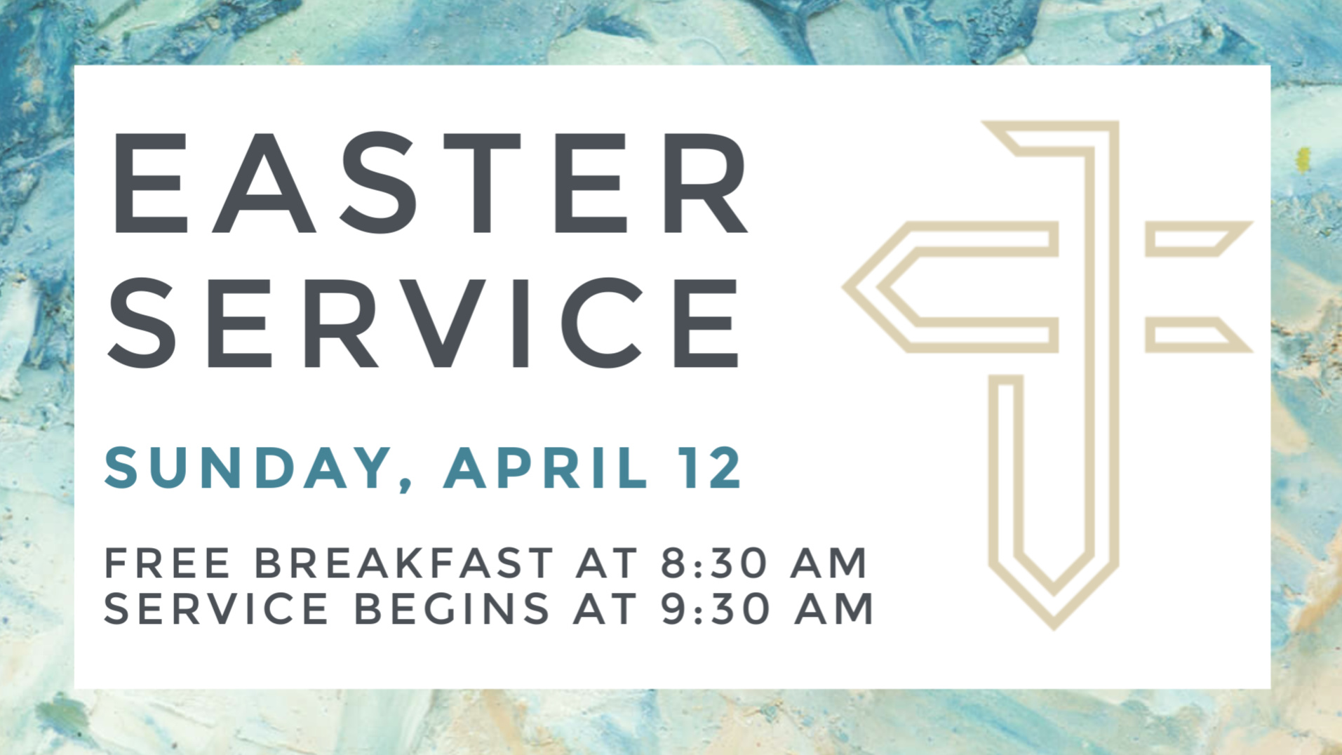 Join us at Journey Church in River Falls for Easter Sunday April 12!