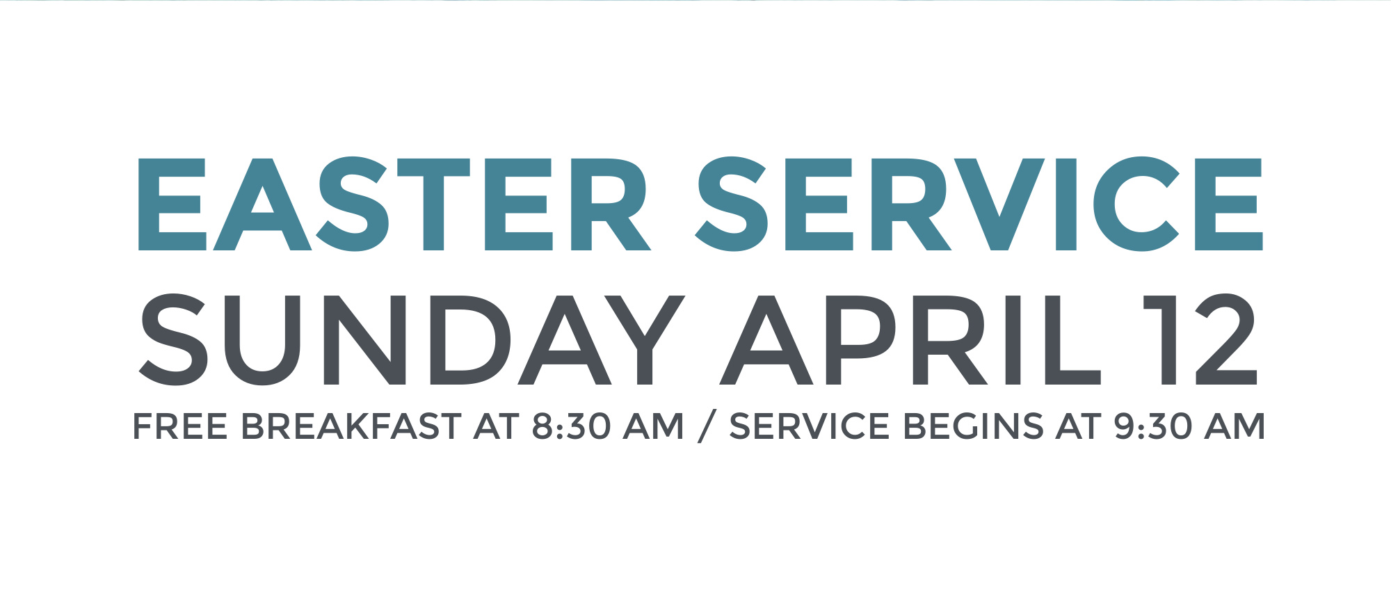 Join us for Easter Sunday at Journey Church!