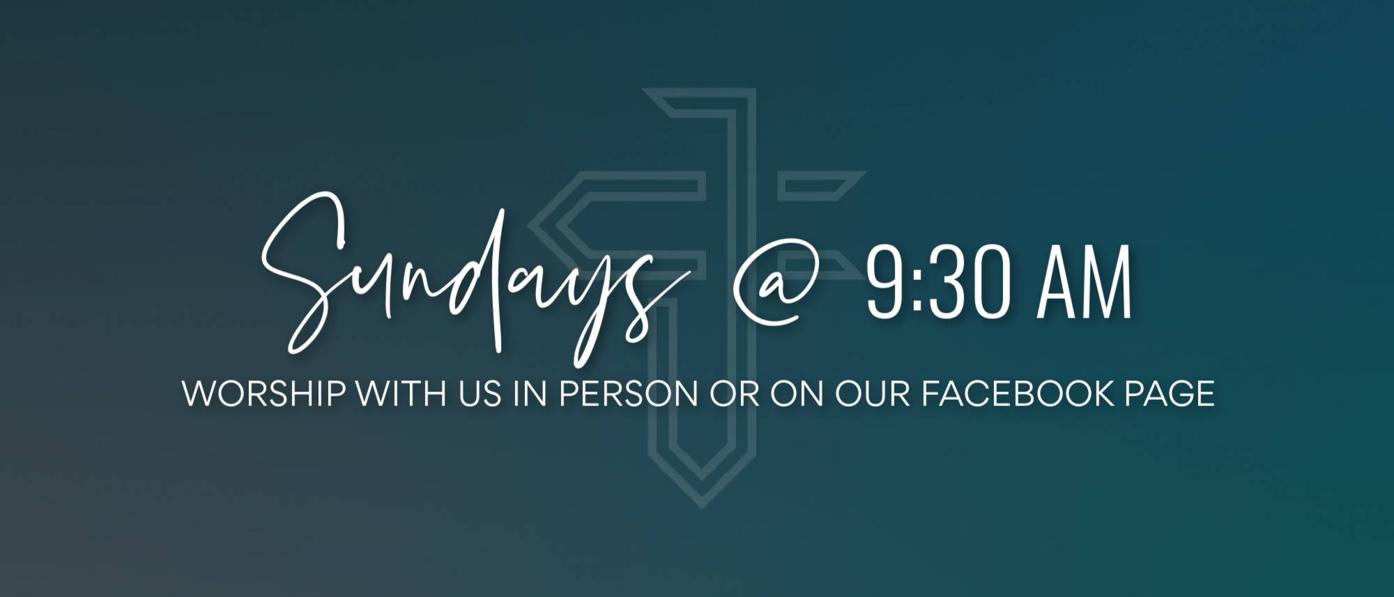 Worship with us at Journey Church River Falls on Sundays at 9:30 AM!