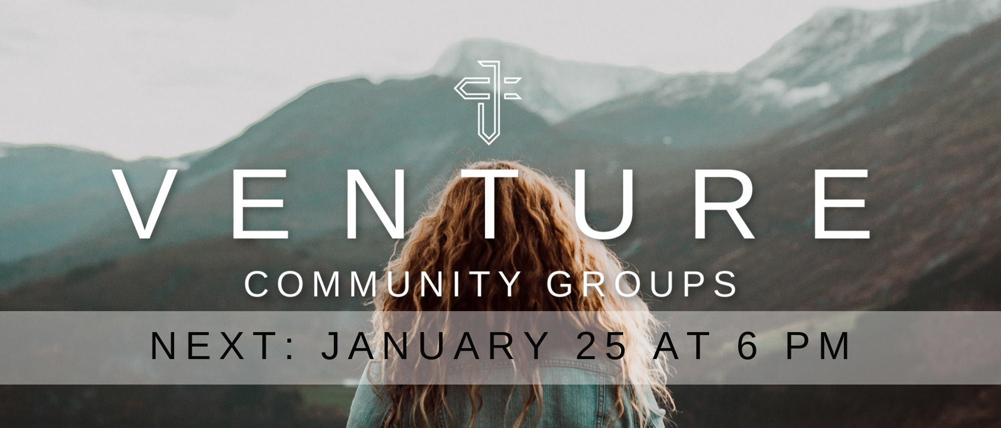 Join us for our monthly Venture Community Group gatherings! Next up: January 25 at 6 PM. Click for more info.